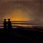 Caspar David Friedrich - Sunset