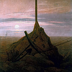 Joseph Anton Koch - Cross beside The Baltic