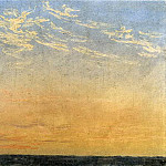 Caspar David Friedrich - Evening