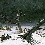 Caspar David Friedrich - Winter Landscape 1811