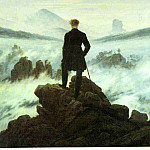 Caspar David Friedrich - 1818 Wanderer above the Sea of Fog