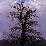 Caspar David Friedrich - Oak In The Snow