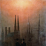 Caspar David Friedrich - The Sisters On The Balcony