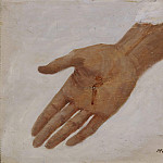 Balthasar Denner - Hand. Sketch for a Picture of Christ