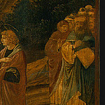 Benozzo Gozzoli - The Raising of Lazarus, probably 1497, 65.5x80.5 c