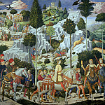 Benozzo Gozzoli - Journey of the Magi