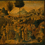 Benozzo Gozzoli - Gozzoli The Raising of Lazarus, probably 1497, 65.5x80.5 cm,