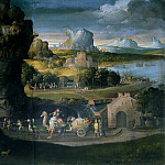 Landscape with a Magic Procession