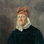 Karl Kuntz - Portrait of an old woman