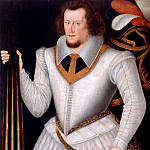 Portrait of Robert Devereux 2nd Earl of Essex