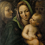 Gentile da Fabriano - Madonna and Child with Saints (attr)