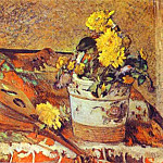 Paul Gauguin - Mandolina And Flowers