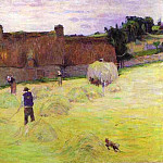 Paul Gauguin - Hay-Making In Brittany