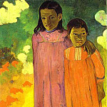 Paul Gauguin - Piti Teina (Two Sisters)