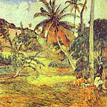 Paul Gauguin - Palm Trees On Martinique