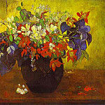 Paul Gauguin - Bouquet Of Flowers