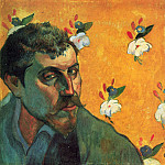 Paul Gauguin - Paul Gauguin -Автопортрет На Голгофе