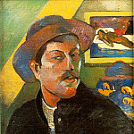 Paul Gauguin - Portrait de lartiste (Self-portrait), ca 1893-94, 4