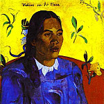 Paul Gauguin - Vahine No Te Tiare (Woman With A Flower)