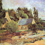 Paul Gauguin - Washerwomen At Pont-Aven