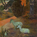 Paul Gauguin - Tarari Maruru (Landscape With Two Goats)