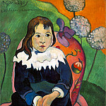 Paul Gauguin - M Loulou, 1890, 55 x 46.2 cm, Barnes foundation