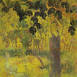 Paul Gauguin - Man Picking Fruit From A Tree
