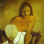 Paul Gauguin - Girl With A Fan