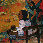 Paul Gauguin - Baby, 1896, Eremitaget