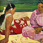Paul Gauguin - Two Tahitian Women on the shore