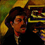 Paul Gauguin - Self-Portrait (1893-1894)