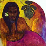 Paul Gauguin - Tahitian Woman