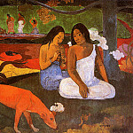 Paul Gauguin - Paul Passing time