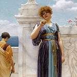 The Engagement Ring, John William Godward