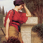 John William Godward - Thoughtful