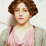 John William Godward - A Young Beauty