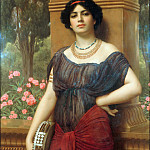 The Tambourine Girl, John William Godward