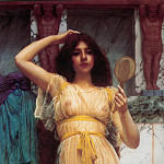 The Mirror, John William Godward
