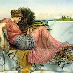 John William Godward - Amaryllis