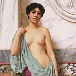 John William Godward - In the Tepidarium