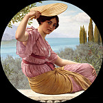 John William Godward - Golden Hours (Expenctancy)