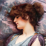 Far Away Thoughts, John William Godward