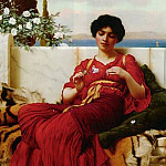 John William Godward - Mischief