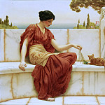 John William Godward - The Favorite