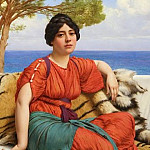 By the Blue Ionian Sea, John William Godward