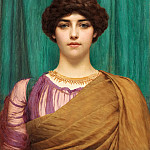 A Pompeian Lady, John William Godward