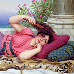 John William Godward - Noonday Rest