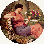 The Time of Roses, John William Godward