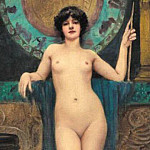 John William Godward - Campaspe