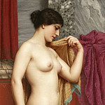 In the Tepidarium, John William Godward